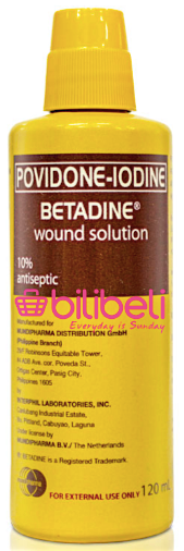Betadine Wound Solution 120 ml