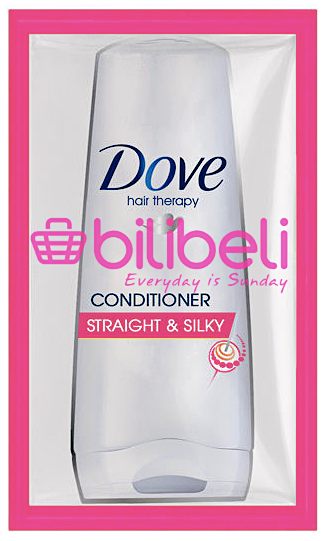 Dove Straight & Silky Conditioner Sachet