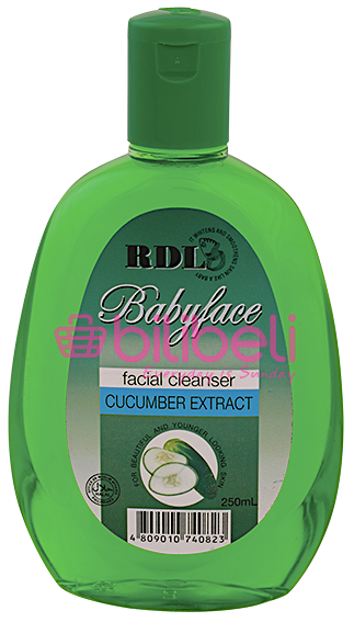 RDL Facial Cleanser with Cucumber Extract 150 ml