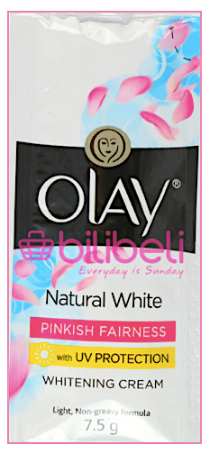 Olay Natural White Cream Pink Fairness 7.5g