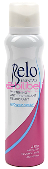 Belo Essentials Anti-Perspirant Shower Fresh Deo Spray 140 ml