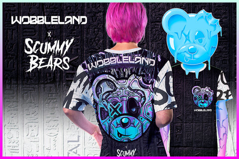 WOBBLELAND x SCUMMY BEARS
