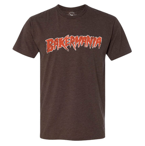 """Bakermania"" Brown Vintage T-shirt"