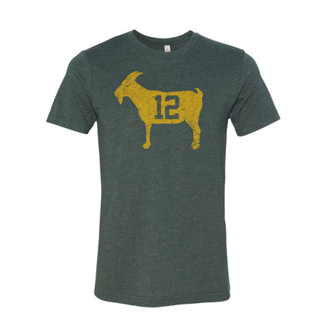 "Image of ""GOAT 12"" Green Vintage T-shirt"