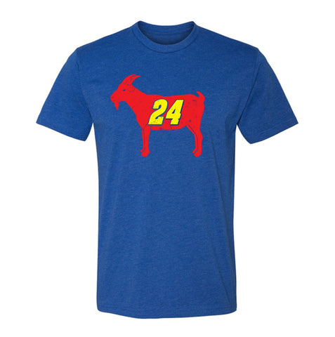 """GOAT 24"" Vintage Racing T-shirt"