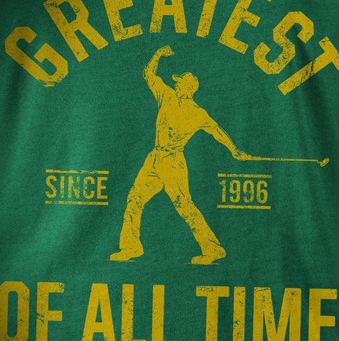 """Golf Greatest"" Green Vintage T-shirt"
