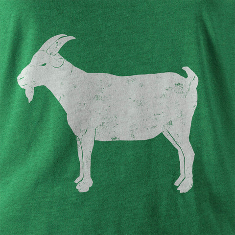 "Image of ""GOAT"" Green Vintage T-shirt"