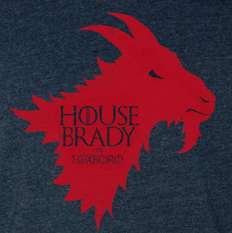 """House Brady"" Blue Vintage T-shirt"