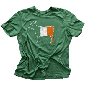 """GOAT"" Irish Green Vintage T-shirt"