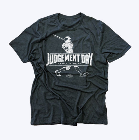 """Judgement Day"" Blue Vintage T-shirt"
