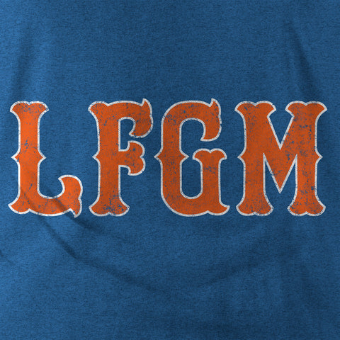 "Image of ""LFGM"" Blue Vintage T-shirt"