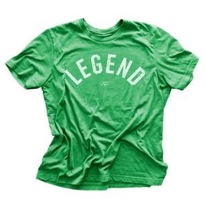 """Legend"" Green Vintage T-shirt"
