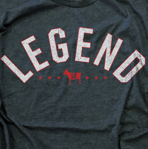 """LEGEND"" Blue Vintage T-shirt"