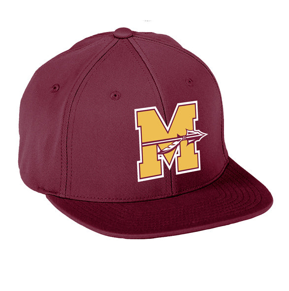 Mineola Chiefs Football - Maroon - FlexFit Cap