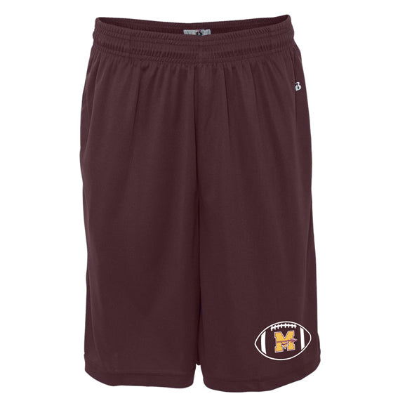 Mineola Chiefs Football - Maroon - Shorts