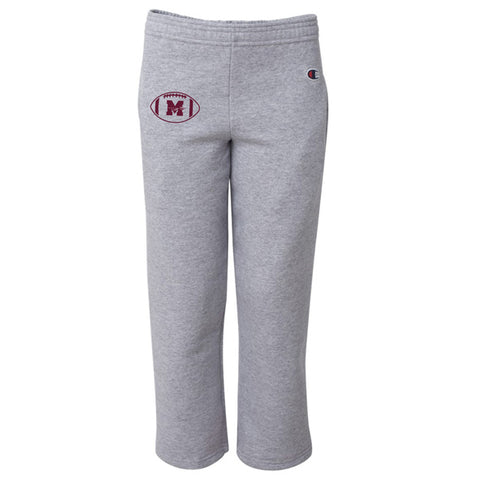 Mineola Chiefs Football - Gray - Sweat Pants - Youth