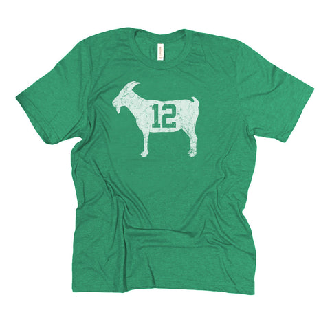 """GOAT 12"" Kelly Green Vintage T-shirt"