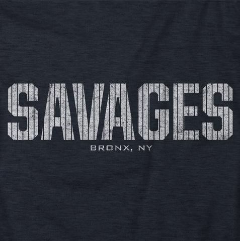"Image of ""Savages"" Blue Vintage T-shirt"