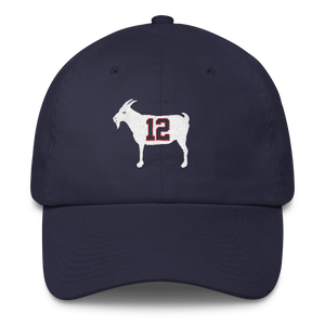"""GOAT 12"" Blue Dad Hat"