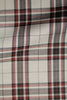 premium light grey with black red plaid