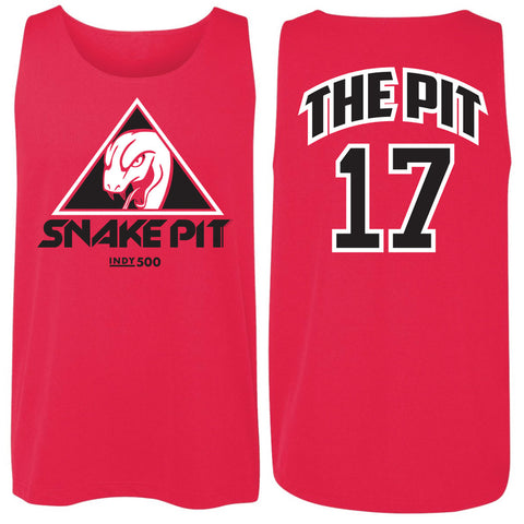 "Red Mesh Jersey ""THE PIT 17"" Snake Pit"
