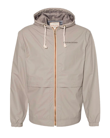 Hooded Rain Jacket - $30