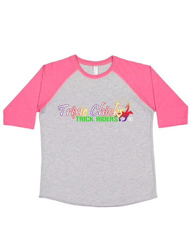 THG Trixie Chicks Youth Raglan