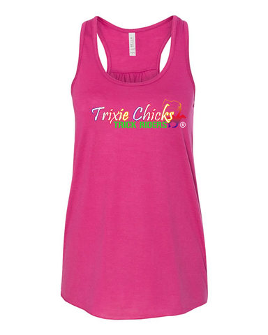 THG Flowy Racerback Tank Top Trixie Chicks