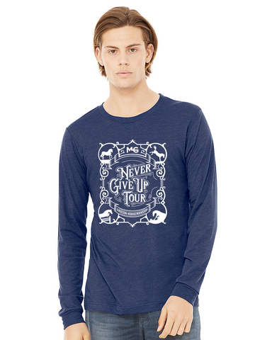 THG Long Sleeve Jersey Tee Never Give Up