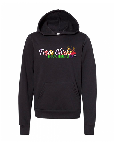 THG Youth Sponge Fleece Pullover Hoodie Trixie Chicks