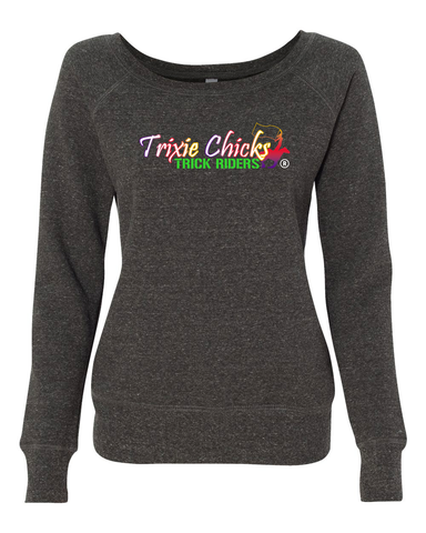 THG Wide Neck Sweatshirt Trixie Chicks