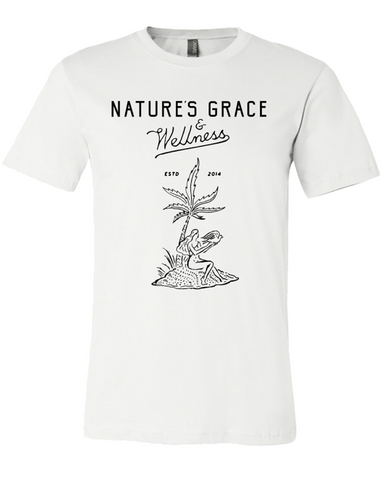 Natures Grace & Wellness Script & Cannapalm Tshirt