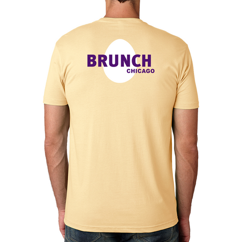 Brunch Crew Tee-Banana cream