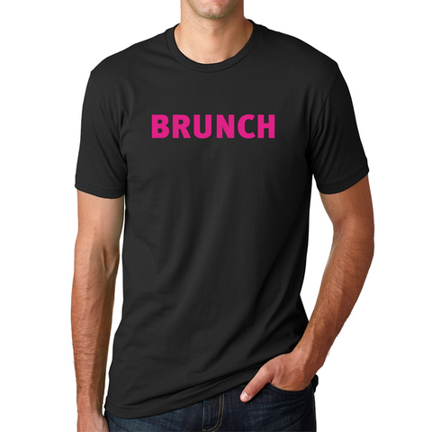 Brunch Crew Tee- Black