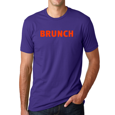 Brunch Crew Tee-Purple Rush