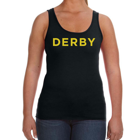 Derby Womens Tank-Black