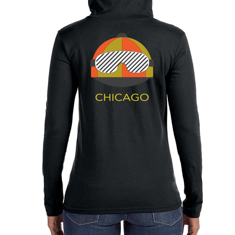 Derby Womens Sweatshirt- Black