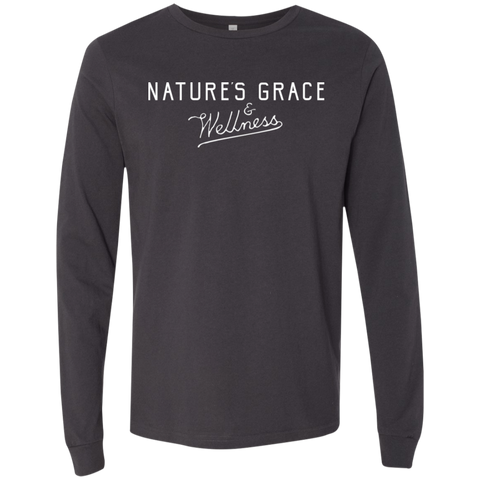 Nature's Grace & Wellness Logo Longsleeve
