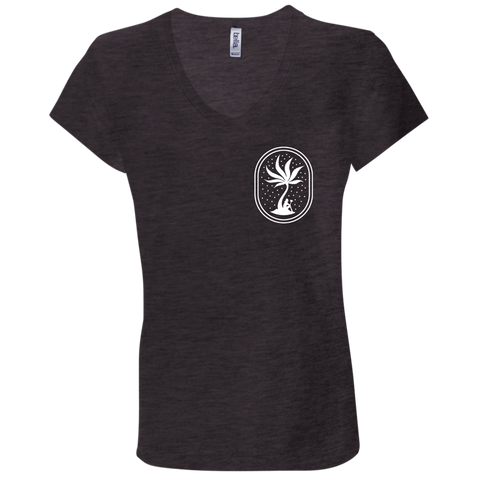 Nature's Grace & Wellness Island V-neck