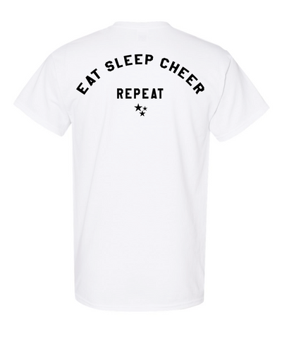 CSA Eat Sleep Cheer Repeat