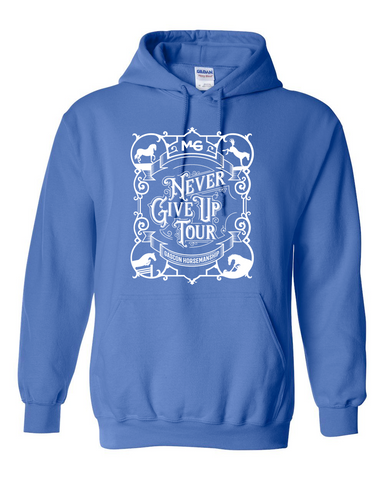 THG Heavy Blend Hoodie Never Give Up