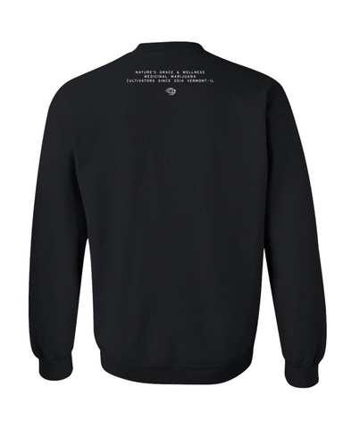 Natures Grace & Wellness Cannapalm Sweatshirt