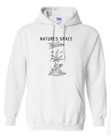 Natures Grace & Wellness Script & Cannapalm Hoodie