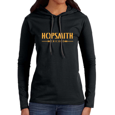 Hopsmith Womens Sweatshirt-Black
