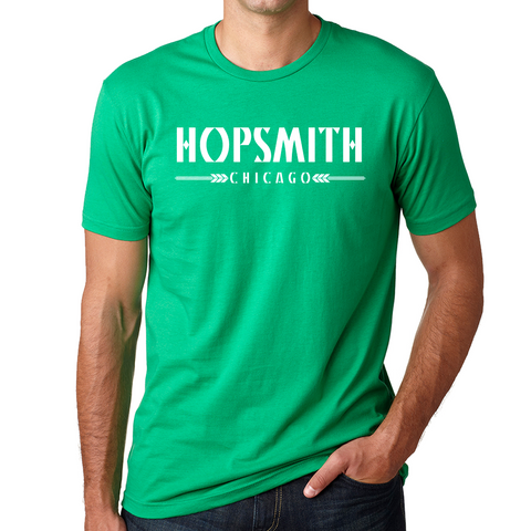Hopsmith Crew Tee-Kelly Green