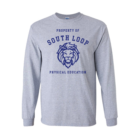 Property [gym shirt] of South Loop Long sleeve