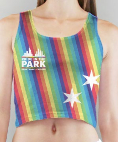 Pride in the Park Sublimation Crop Top