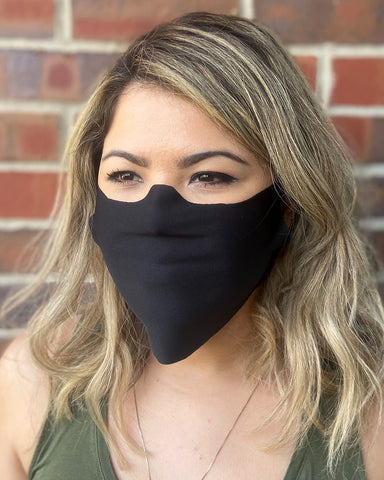 100 pack Antimicrobial Cut Face Masks Made in Chicago