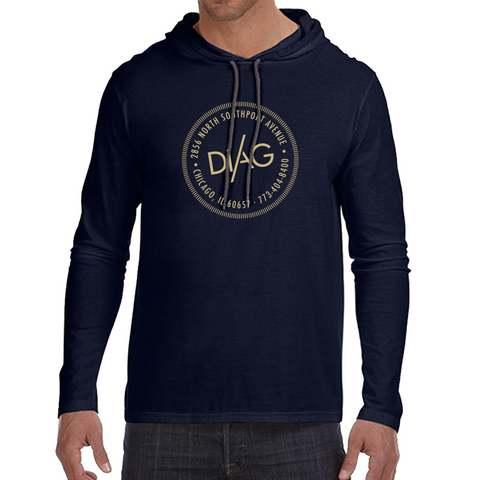 Diag Sweatshirt- Midnight Navy