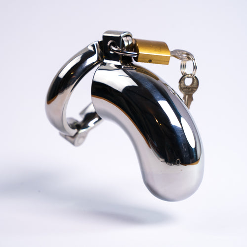Closed Tip Men's Chastity Tube